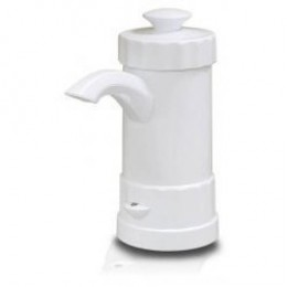 White automatic soap dispenser