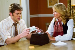 James Marsden and Cameron Diaz star in The Box