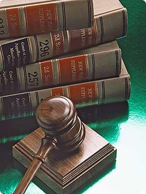 Law books - a lawyer's best friend