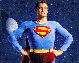 George Reeves from the Adventures of Superman TV show
