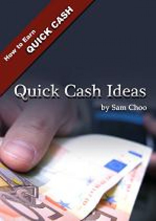 Quick Cash Ideas