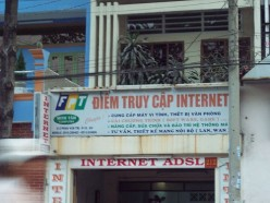 Some words are universal: taxi, hotel, internet, fone, ADSL Photo:ehaver