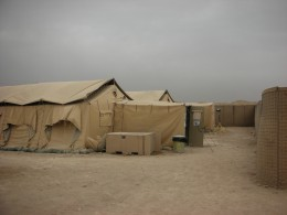 One of my Workplaces in Iraq on a Good Day