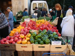 Head to your local farmer's market to find food that's pesticide-free with twice as many nutrients!