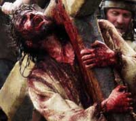 "A photo from ""The Passion of the Christ""."