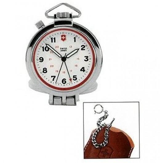 Swiss Army travel alarm clock model 24725