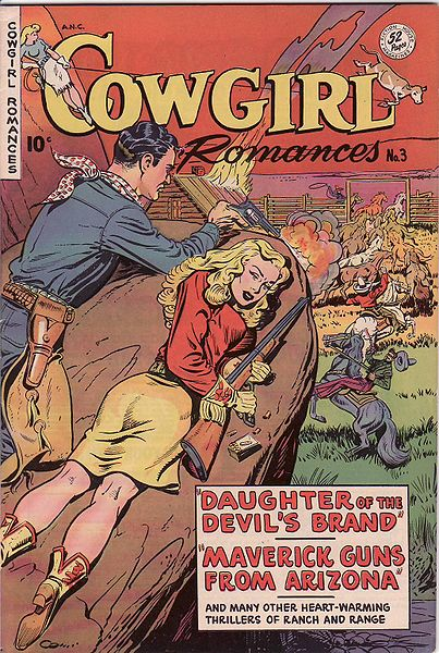 Cowgirls in the Golden Age of Comic Books.