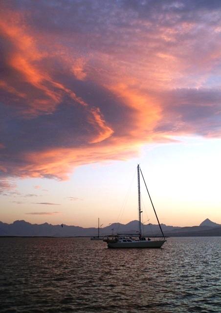 Sunset at Islas Los Coronados - North of Loreto, MX - Sea of Cortez