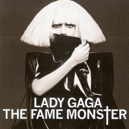 "This is the cover of Lady Ga Ga's ""Fame Monster CD"" There are some interesting photos inside as well."