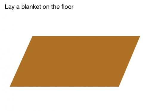 Lay out the blanket