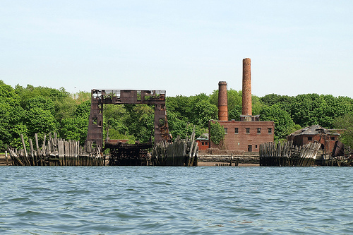 North Brother Island as she is today.