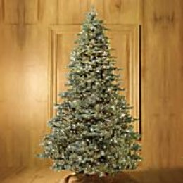 Noble fir artificial Christmas tree, photo credit: frontgate.com