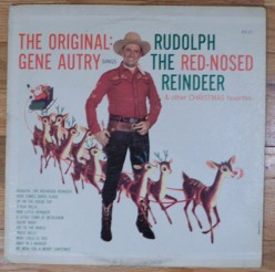 The Singing Cowboy Gene Autry Sings Rudolph The Red-Nosed Reindeer - LP review