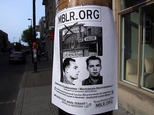 Lucien Rivard 'folk hero or violent mobster?' Petition to re-name montreal Boulivard.