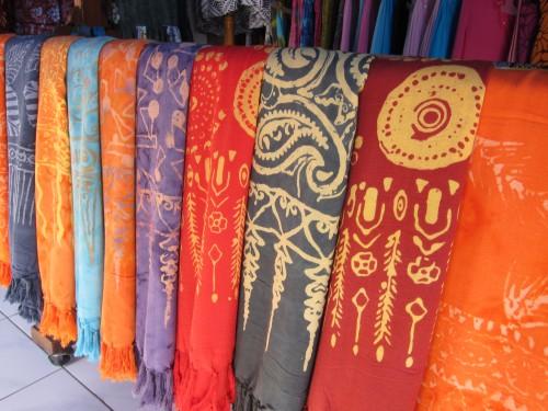 Batik shawls