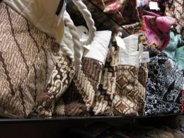 Batik bags and purses
