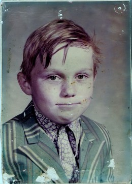 Johnny age 8