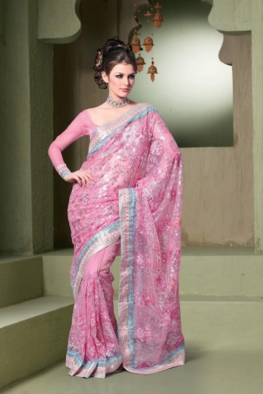Modern sarees are every woman   s choiceModern Sarees Wedding