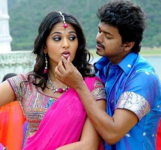 Vijay and Anushka in VettaikaranVijay Photos In Vettaikaran