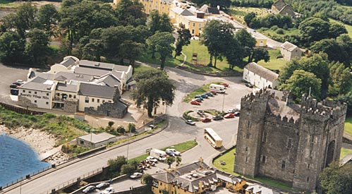 Bunratty Castle and Folk Park is close to Shannon airport