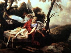Laurent de La Hyre 1650 Abraham sacrificing Isaac
