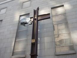 An iron beam from World Trade Center