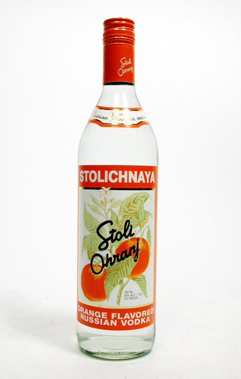 Stolichnaya (Stoli) Ohranj (Orange) Vodka