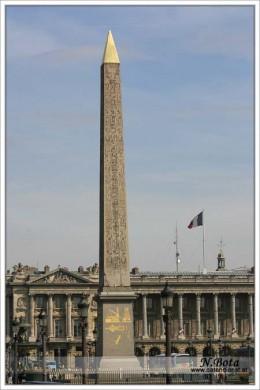 Obelisk in la Place de la Concorde