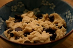 Eggless Chocolate Chip Cookie Dough Recipe (Vegan)