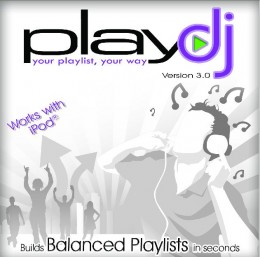 Every playlist has more variety.   PlayDJ separates similar sounding songs.  www.PlayDJ.com