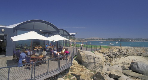 Restaurant & Souvenir Shop on Granite Island Recreation & Nature Park