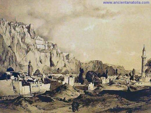 Tushpa, the capital city of the Urartu.
