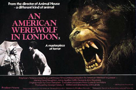 An american werewolf in london a classic horror film from the 80's
