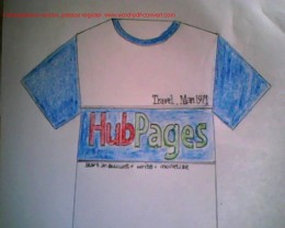 HubPages on T-shirts