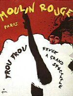 Le Moulin Rouge Poster by Jules Grun