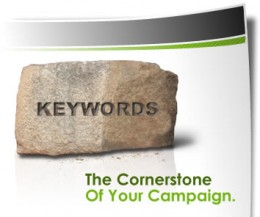 Benefits of keywords, the cornerstone of your campaign.