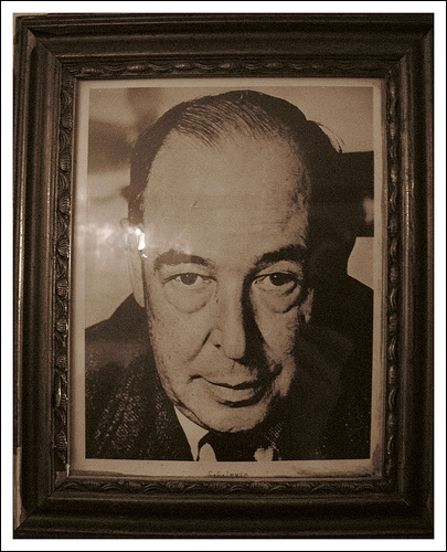 C.S Lewis is a Author I will be writing a lot about,for he had lot of important things to say about Christianity.