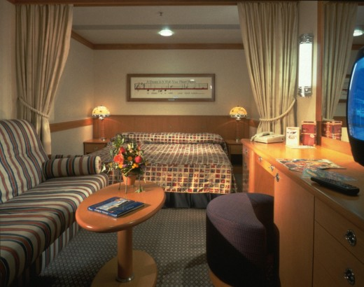 Disney ship. New Friends in A Disney Dream. Disney Cruise Line Stateroom