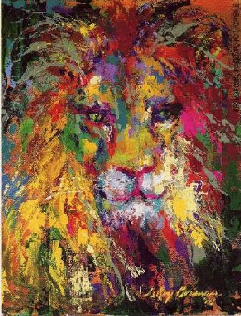 LeRoy Neiman lion