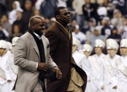 Emmitt Smith and Michael Irvin