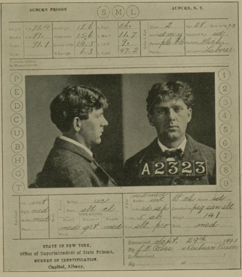 Czolgosz Execution Card