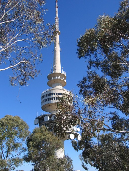 TELSTRA TOWER, CANBERRA, Australia