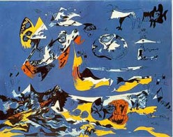 """""""Blue (Moby Dick)"""" c. 1943"""