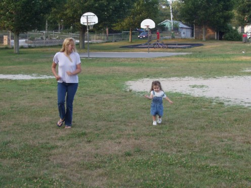 Active toddler games are beneficial on many levels!