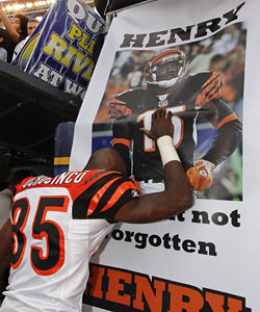 Chad Ochocinco: 'I went out there and I played with an extra set of hands and an extra set of legs and an extra heart.' www.cbssports.com (AP)