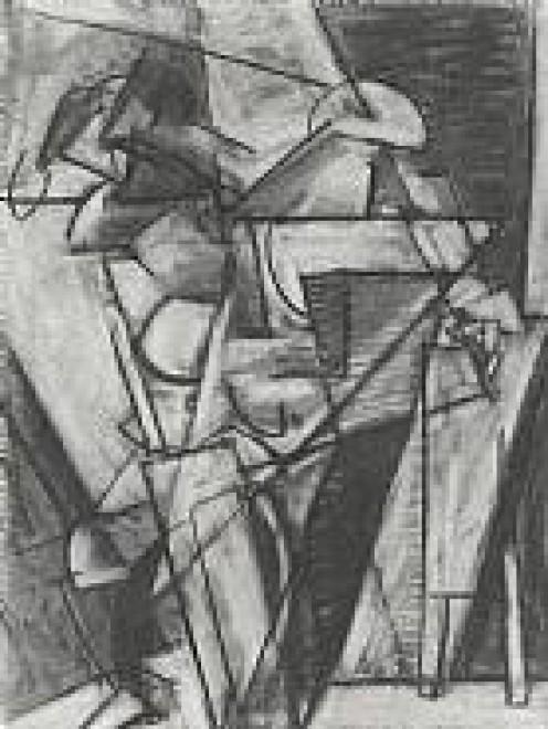 """Krasner's """"Nude Study from a Still Life"""" (1938)"""