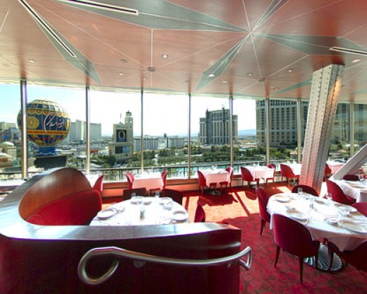 The Eiffel Tower Restaurant is the ultimate combination of fine dining and elegant atmosphere