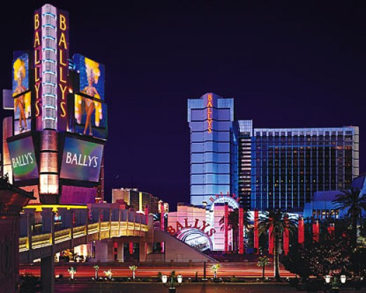 ...all within Bally's Hotel on the Strip