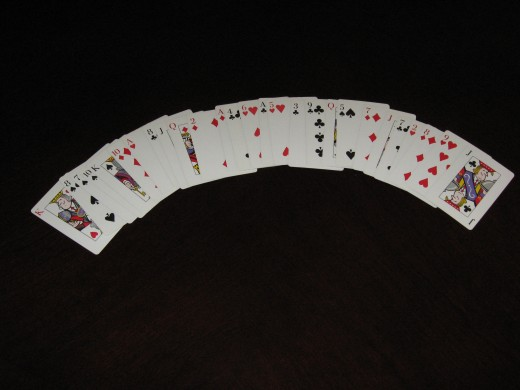 A Deck of Common Playing Cards