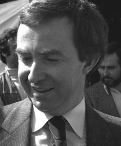 Canadian Prime Minister Joe Clark